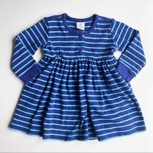 Hanna Andersson blue dress size 18-24M
